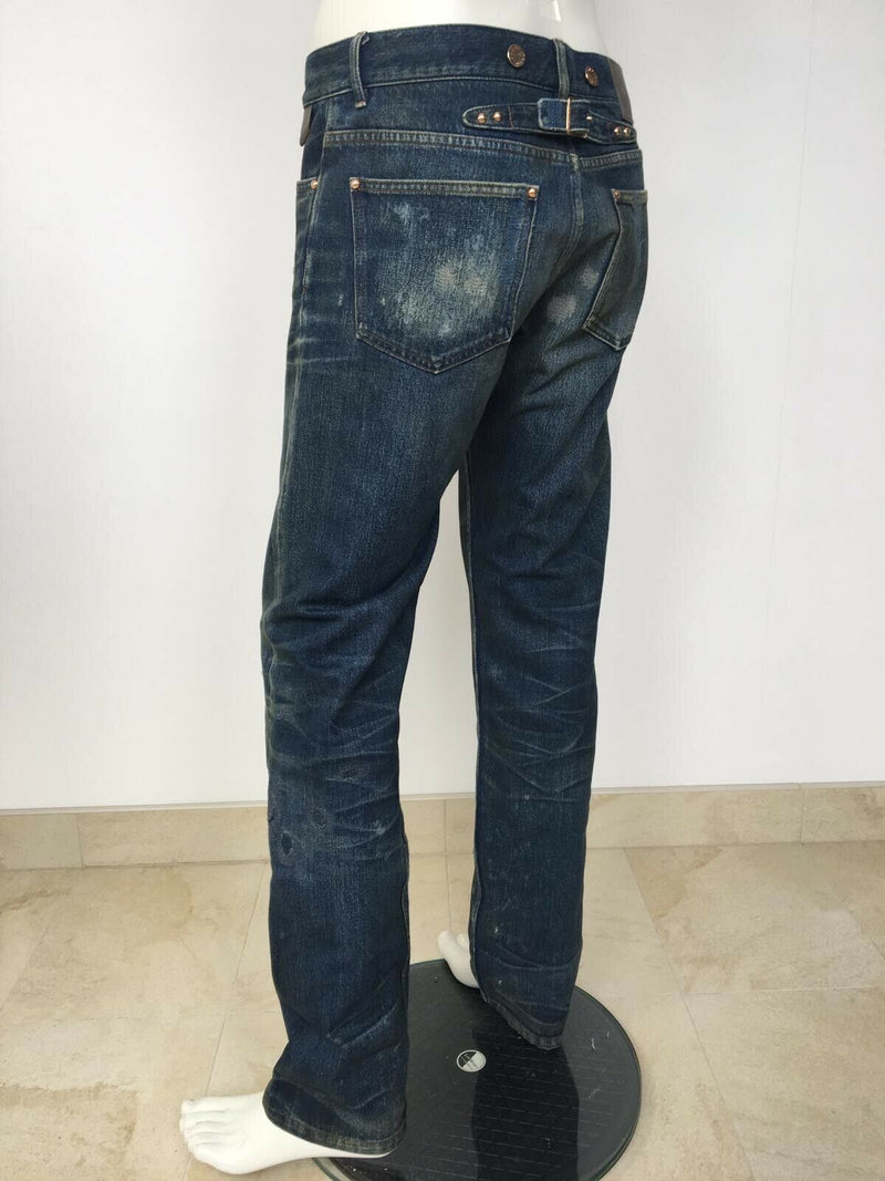 Louis Vuitton Heritage Washed Jeans - Luxuria & Co.