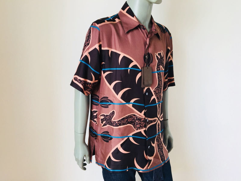 Louis Vuitton Limited Chapman Giraffe Hawaiian Shirt - Luxuria & Co.