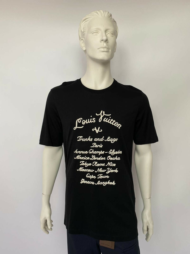 Louis Vuitton Varsity Trunks & Bags T-Shirt - Luxuria & Co.