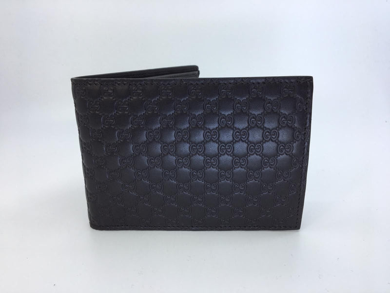 Gucci Gucci MicroGuccissima Bi-Fold Wallet - Luxuria & Co.