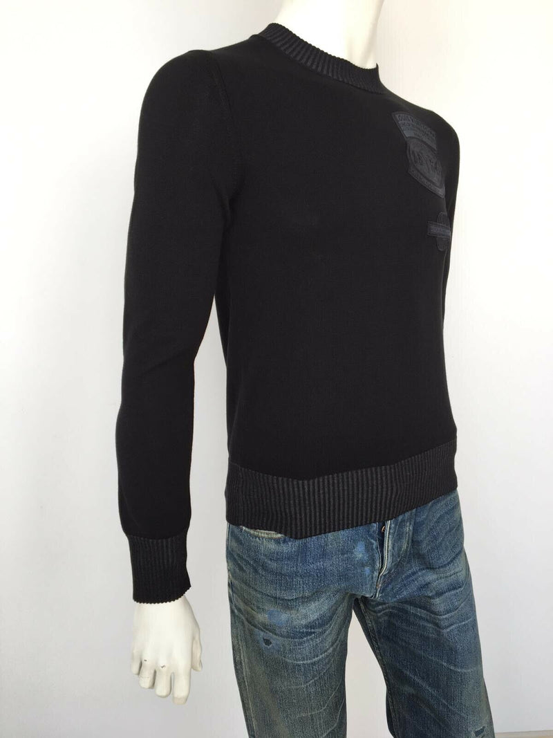 Louis Vuitton Fine Patches Crewneck Sweater - Luxuria & Co.
