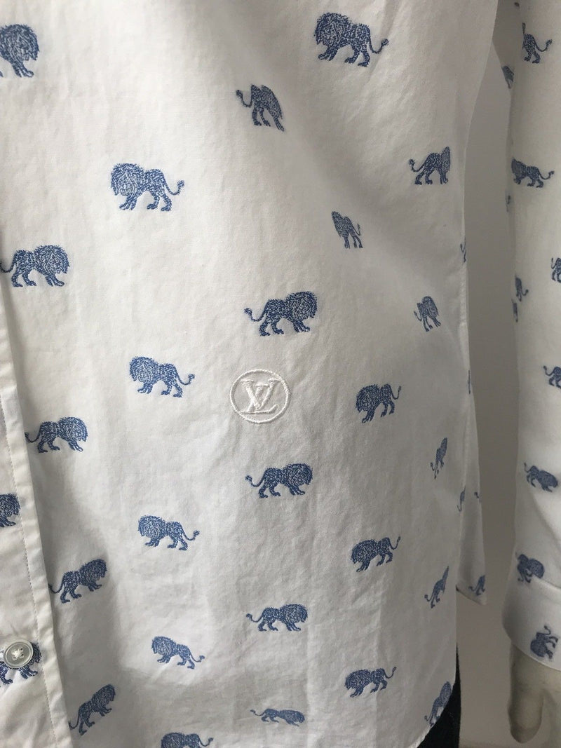 Louis Vuitton Limited Emblem Lion Shirt - Luxuria & Co.