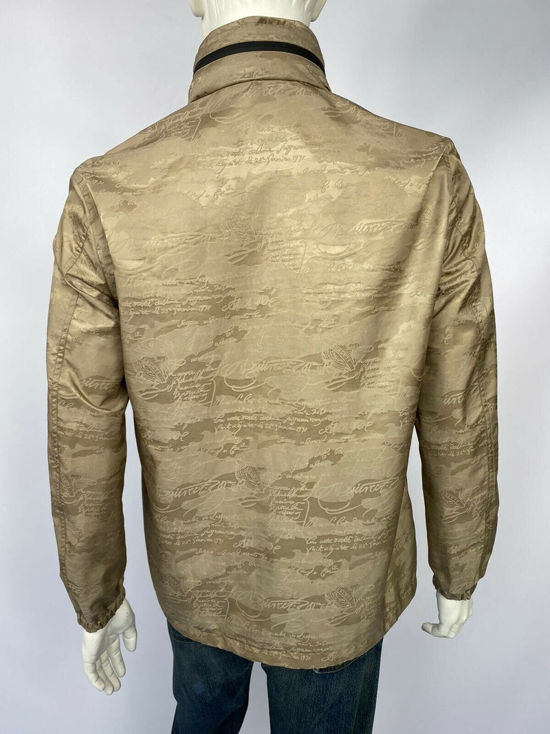 Berluti Bi-Material Scritto B-Way Blouson - Luxuria & Co.