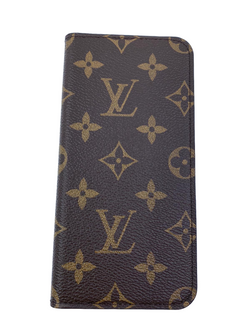 Louis Vuitton Monogram iPhone 7 Plus / 8 Plus Folio Case - Luxuria & Co.