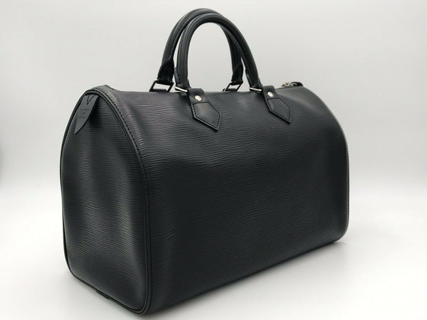 Louis Vuitton Speedy 35 Epi Noir - Luxuria & Co.