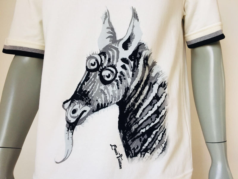 Limited Chapman Zebra T-Shirt - Luxuria & Co.