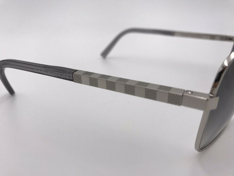 Louis Vuitton Attitude Silver U Damier Sunglasses - Luxuria & Co.