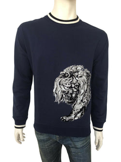 Louis Vuitton Chapman Lion Sweater - Luxuria & Co.