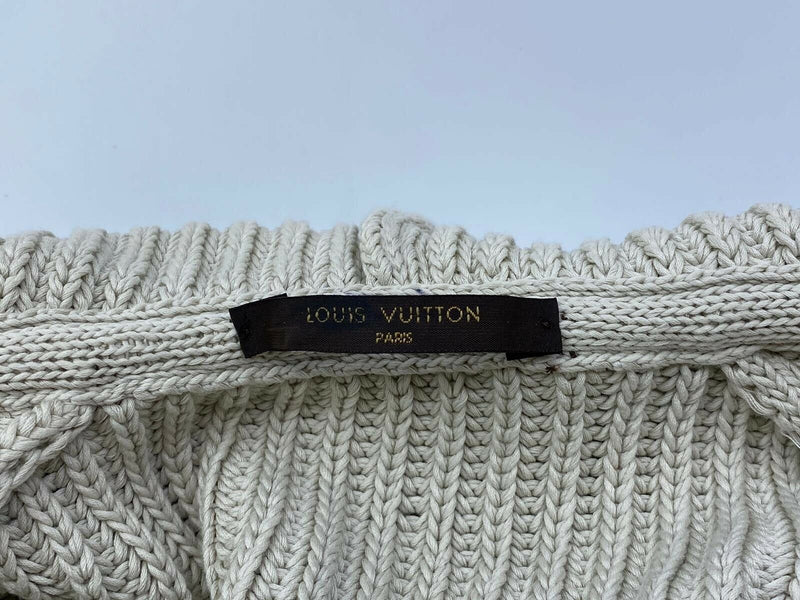 Louis Vuitton Knit Button Hooded Cargidan - Luxuria & Co.