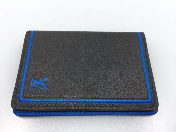 Louis Vuitton Taiga Pocket Organizer Card Holder - Luxuria & Co.