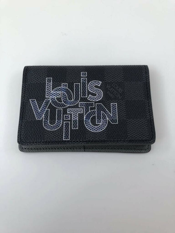 Louis Vuitton Pocket Organizer Damier Graphite - Luxuria & Co.