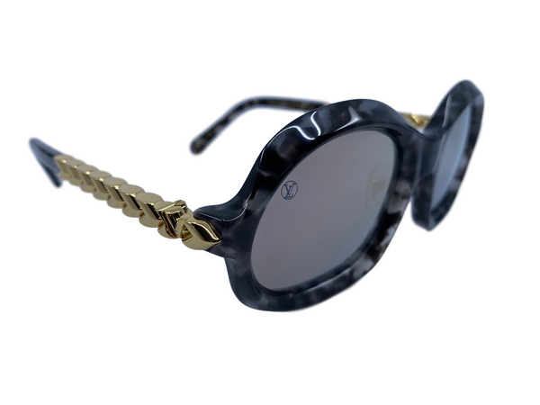 Louis Vuitton Belle de Jour Gray Tortoise Sunglasses - Luxuria & Co.