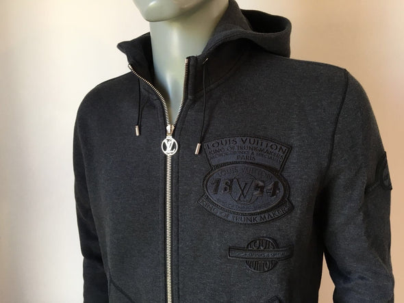 Louis Vuitton Zip Up Patches Hoodie - Luxuria & Co.