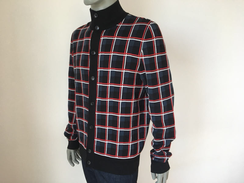 Louis Vuitton Check Jacquard Cardigan - Luxuria & Co.