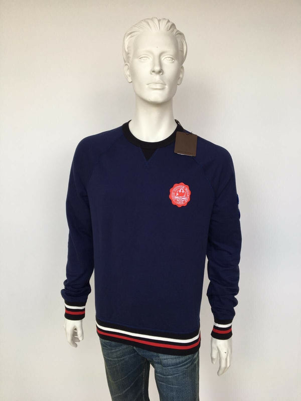 Louis Vuitton Patch Sweatshirt with Tipping - Luxuria & Co.