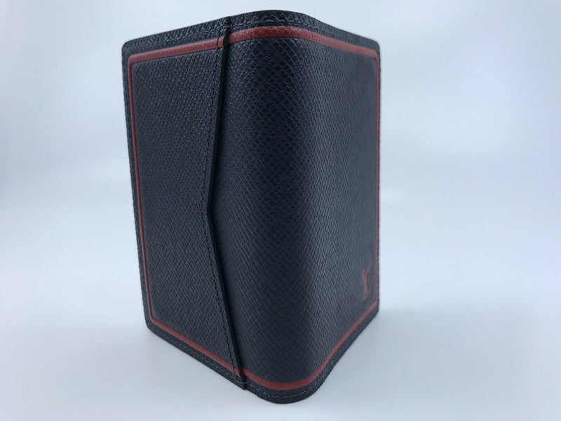 Louis Vuitton Pocket Organizer Taiga Card Holder - Luxuria & Co.