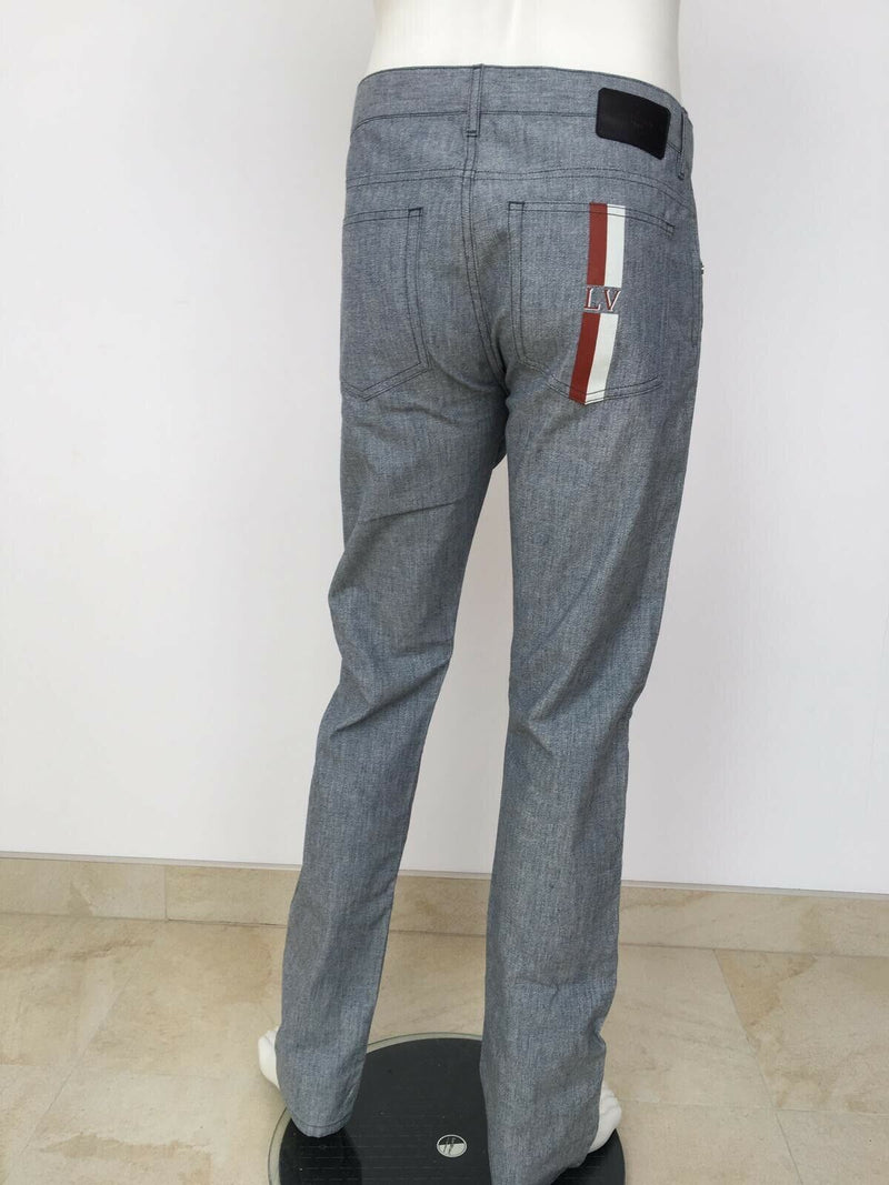 Louis Vuitton Slim High Twist Jeans - Luxuria & Co.