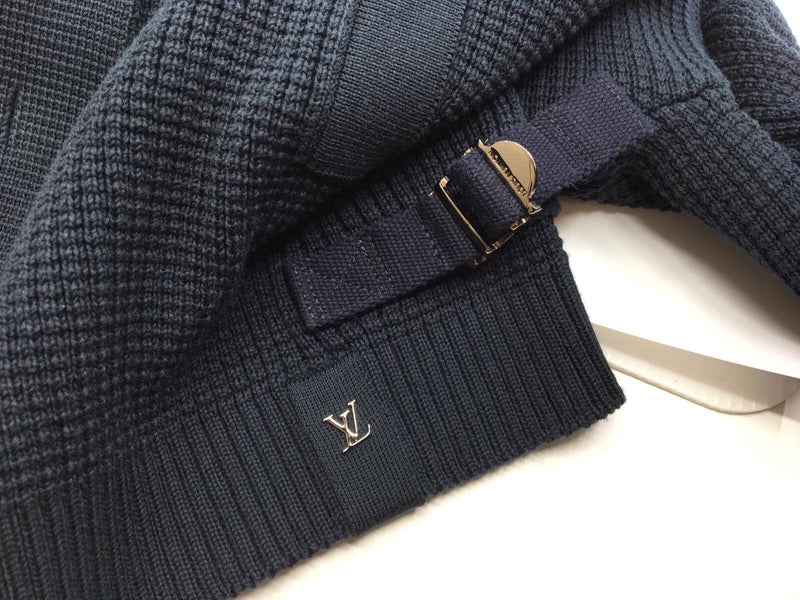 Louis Vuitton Button & Zip Sweater - Luxuria & Co.