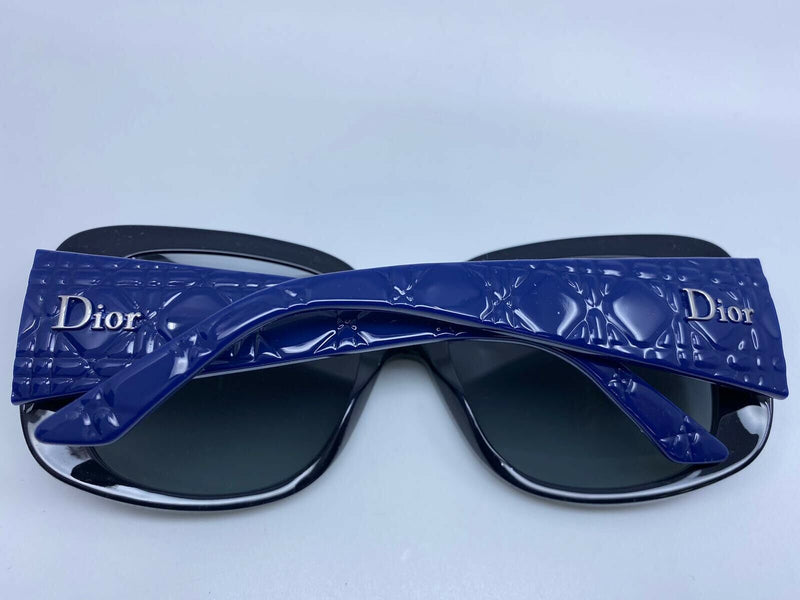 Dior Dior Lady Lady 1D Blue Azure Sunglasses - Luxuria & Co.