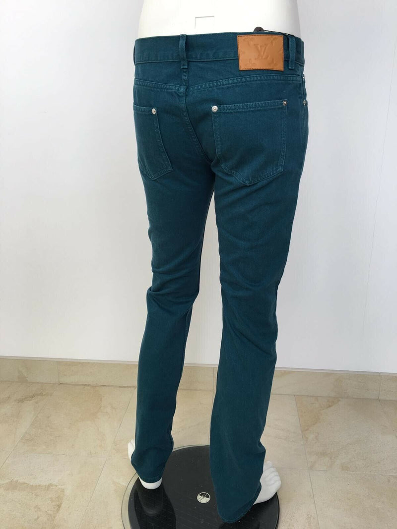 Louis Vuitton Monogram Patch Slim Jean - Luxuria & Co.