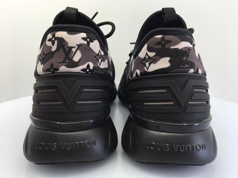 Louis Vuitton Monogram Camo Fastlane Sneaker - Luxuria & Co.