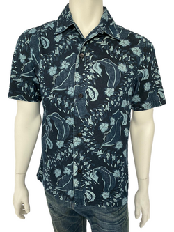 Louis Vuitton Hawaiian Denim Shirt - Luxuria & Co.