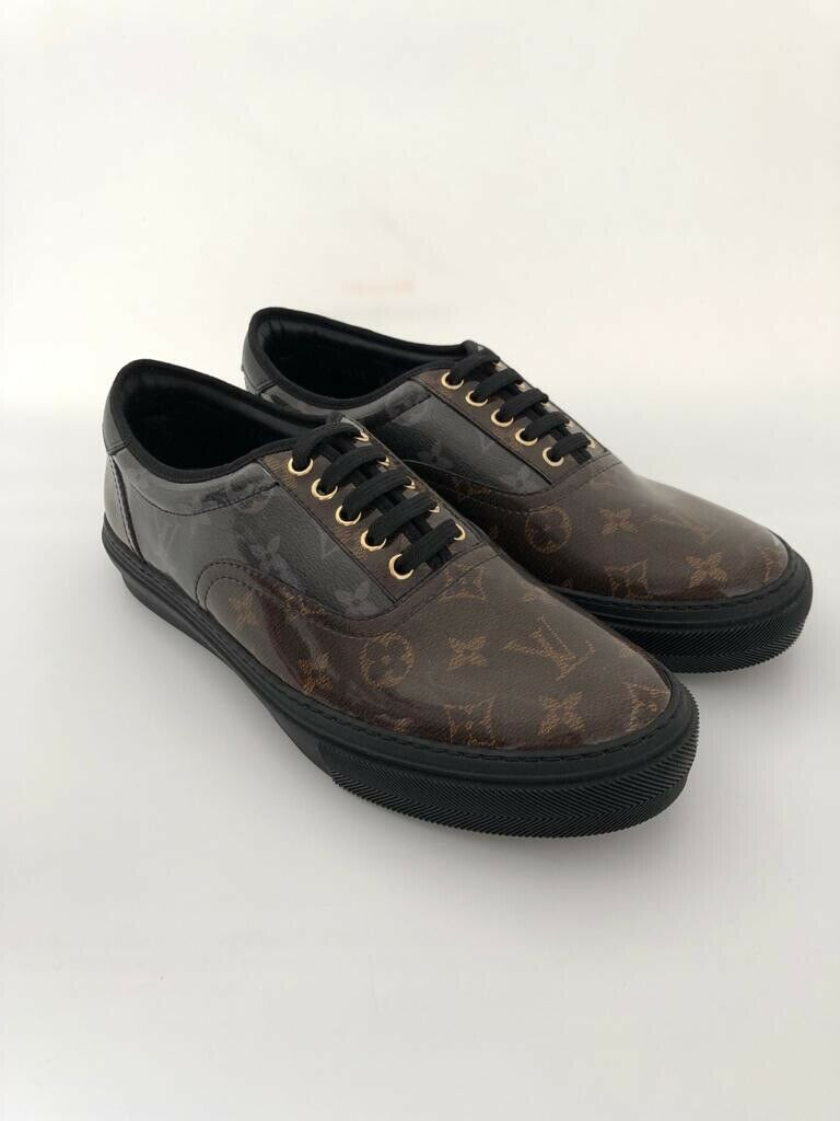 Louis Vuitton Trocadero Richelieu Monogram Glaze - Luxuria & Co.