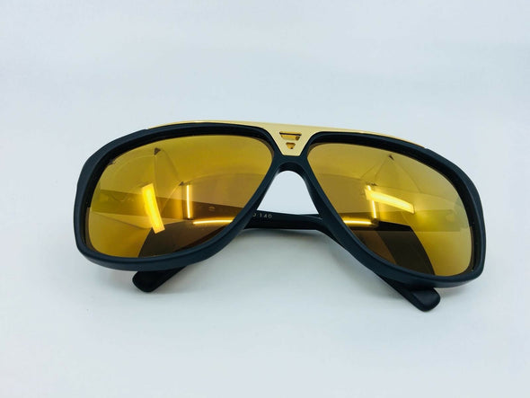 Louis Vuitton Evidence W Sunglasses Black - Luxuria & Co.