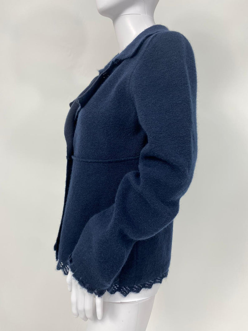 Wool Mohair Pea Coat