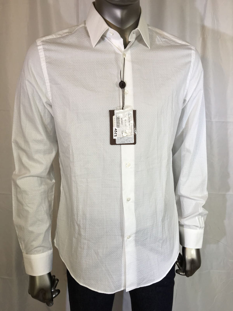 Louis Vuitton White Dress Shirt - Luxuria & Co.