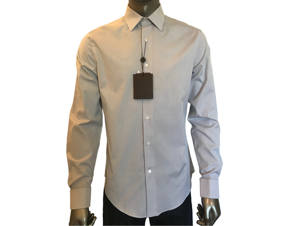 Louis Vuitton V Motif Dress Shirt - Luxuria & Co.