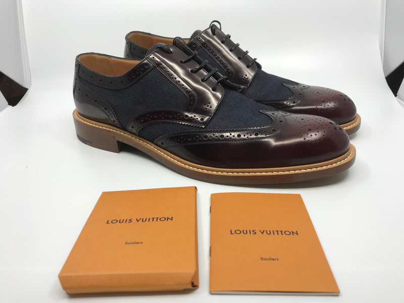 Louis Vuitton Voltaire Derby - Luxuria & Co.