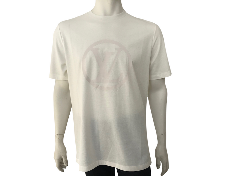 Louis Vuitton Circled LV Print T-Shirt - Luxuria & Co.