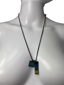 Damier Colors Necklace