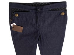 Louis Vuitton Monogram Pocket Jeans - Luxuria & Co.