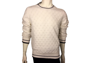 Berluti 100% Cashmere Round Collar Knit Sweater - Luxuria & Co.