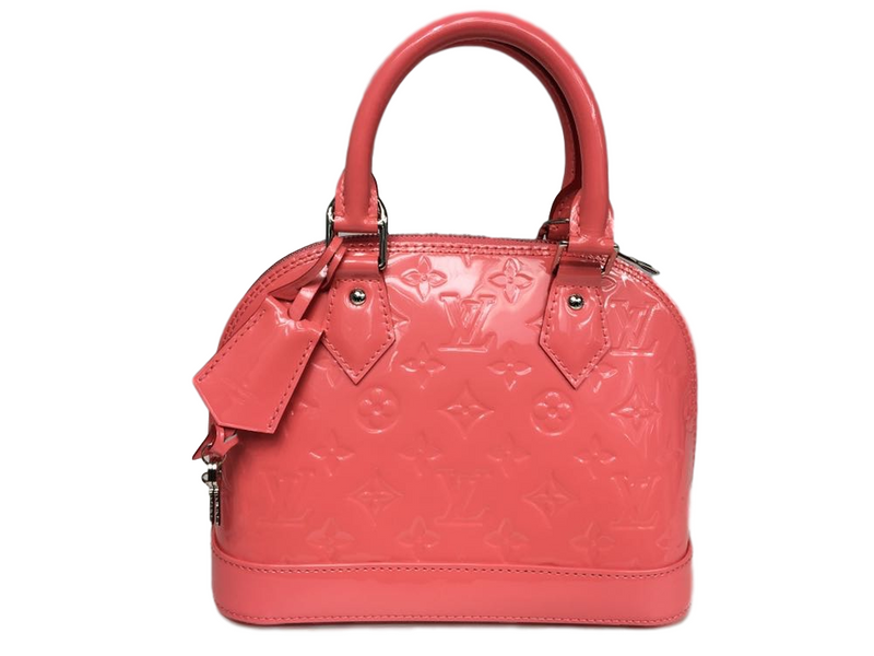 Louis Vuitton Alma BB Monogram Vernis - Luxuria & Co.