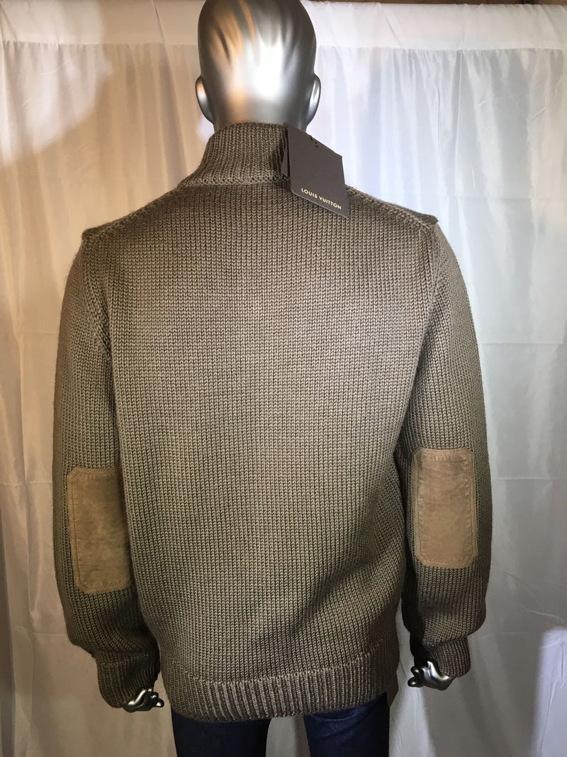 Louis Vuitton Wool Blend Pullover Sweater - Luxuria & Co.