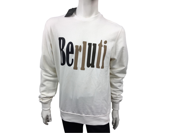 Berluti Berluti Logo Sweater - Luxuria & Co.