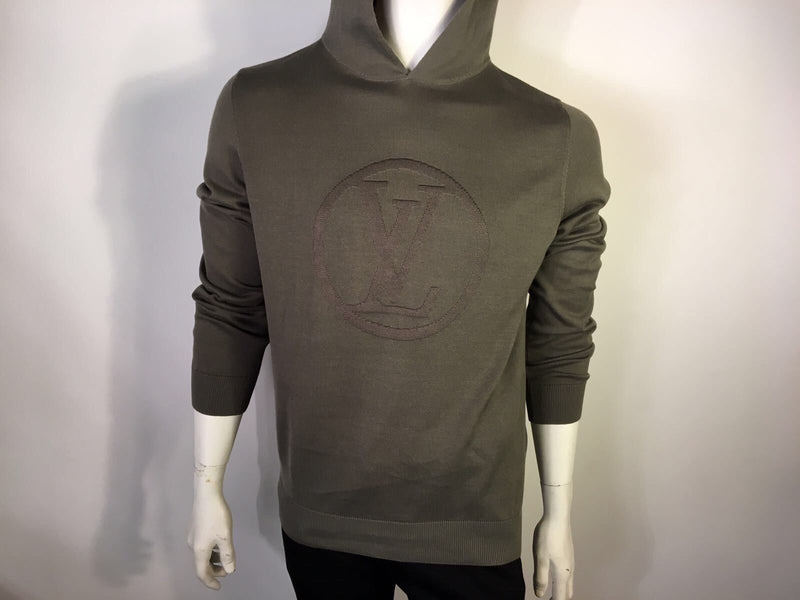 Louis Vuitton Hooded Circled LV Sweater - Luxuria & Co.