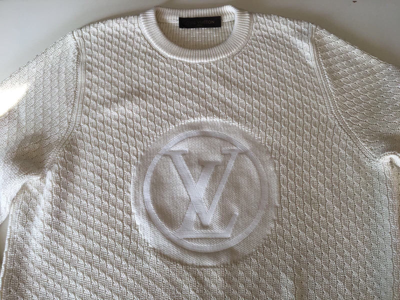 Louis Vuitton Circled LV Crewneck Sweater - Luxuria & Co.