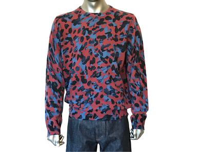 Louis Vuitton Camo Print Crewneck - Luxuria & Co.