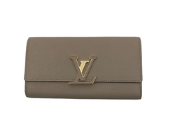 Louis Vuitton Capucines Wallet Galet - Luxuria & Co.
