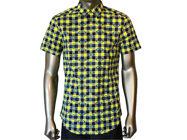 Louis Vuitton Checkered Monogram Shirt - Luxuria & Co.