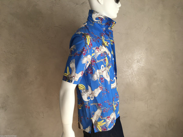 Louis Vuitton Crane Hawaiian Shirt - Luxuria & Co.
