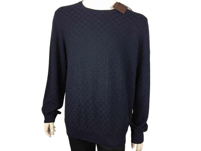 Louis Vuitton Damier Crewneck Sweater - Luxuria & Co.
