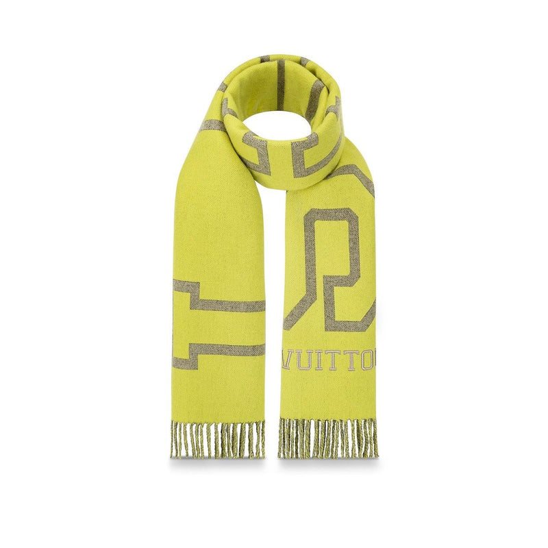Fluo City Scarf Yellow - PRE-ORDER