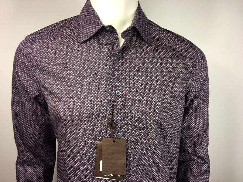 Louis Vuitton LV Initials Printed Shirt - Luxuria & Co.