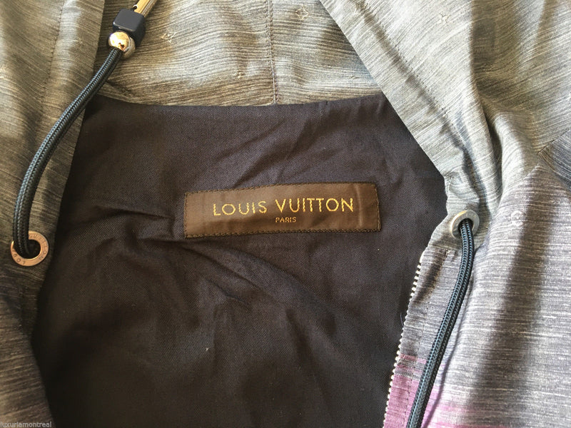 Louis Vuitton Monogram Constellation Ikat Printed Hooded Shirt - Luxuria & Co.