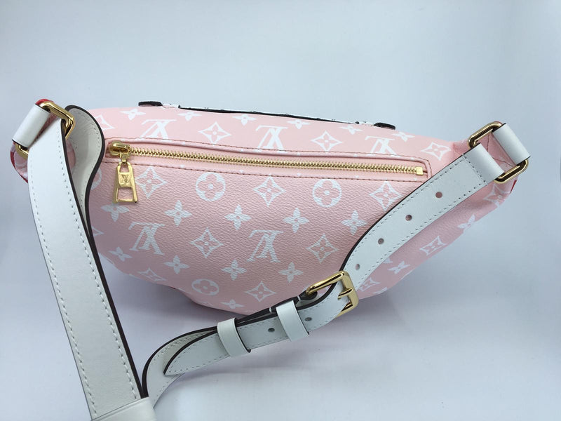 Louis Vuitton Bumbag Giant Monogram Red - Luxuria & Co.